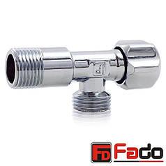 Кран угловой вентильный Fado 1\2x3\4