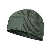 Шапка тактическая флисовая Helikon-Tex® RANGE Beanie Cap® - Grid Fleece -  Олива 9613871469ca8