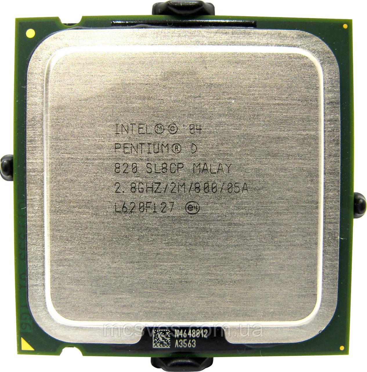 Процессор Intel Pentium D 820 2.8GHz/800MHz/2048k s775 lga775 2 ядра