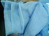 Шифон (ш.2,95м) голубой, фото 2