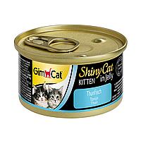 Влажный корм для котят GimCat Shiny Cat 70 г (тунец)