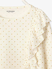 Реглан детский Vertbaudet на рост 156 см футболка для девочек, фото 3