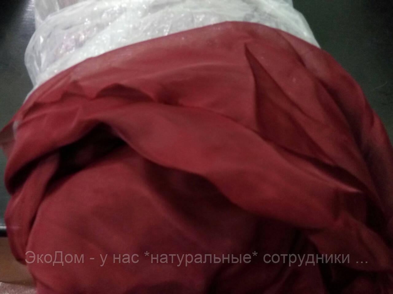 Шифон (ш.2,80м) красный (бордо)
