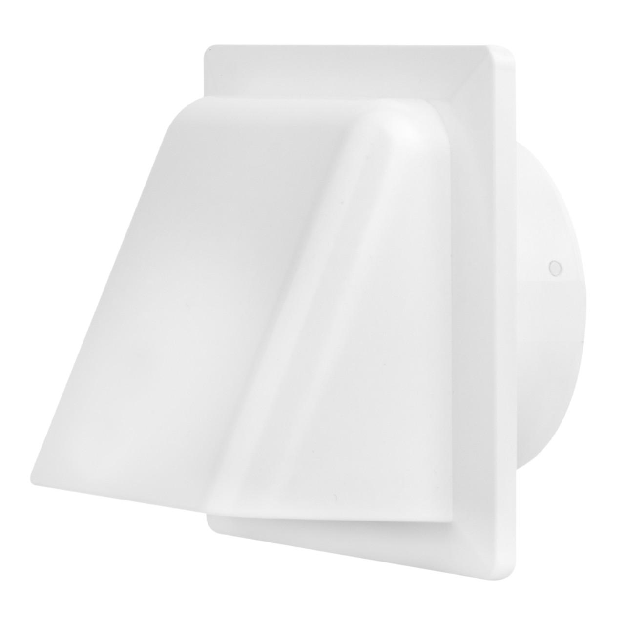 Вентиляционный колпак с клапаном и фланцем (полистирол УПМ), фото 1