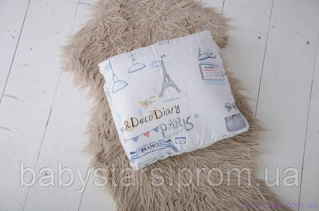 конверт-трансформер легко превращается в подушку для малыша
