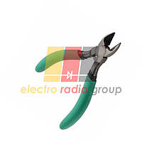 Кусачки горизонтальные, черно-зеленые ручки 128 х 25,Q100