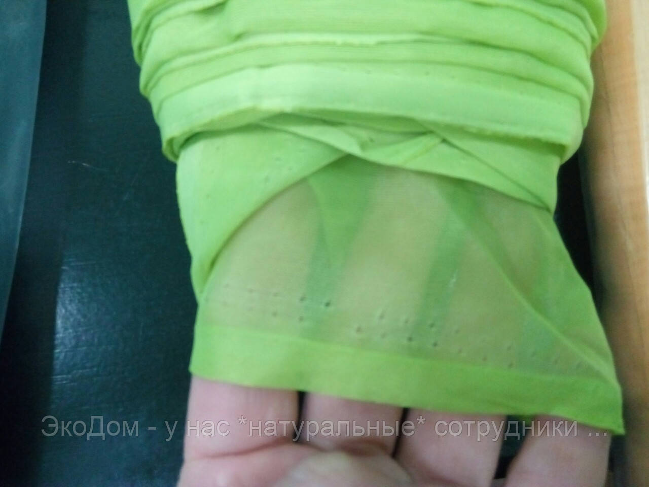 Шифон (ш.2,95м) салатовый (молодая трава)