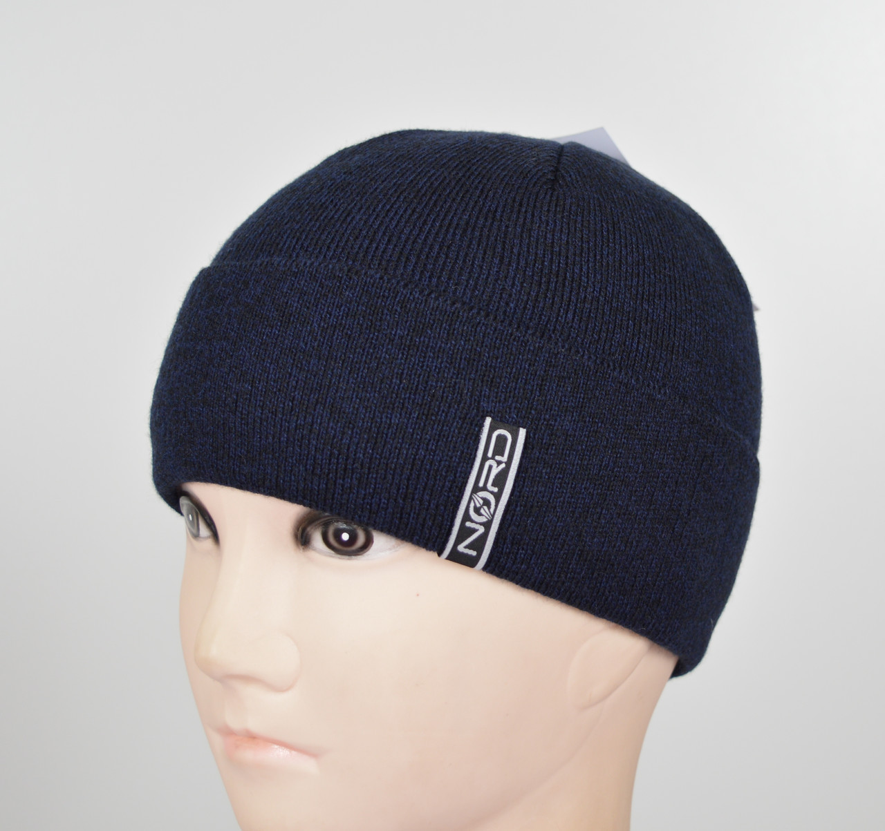 Мужская шапка Nord S-1802 синий