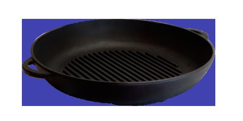 """Сковорода-гриль (d.340х40 мм.) """"Термо"""""""