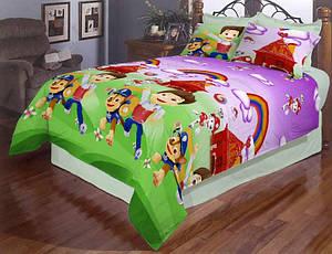 Детский комплект постельного белья «Щенячий патруль 515»