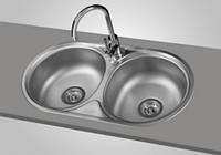 Кухонна мийка Franke Baltic BTL 620 + сифон + кран, фото 1