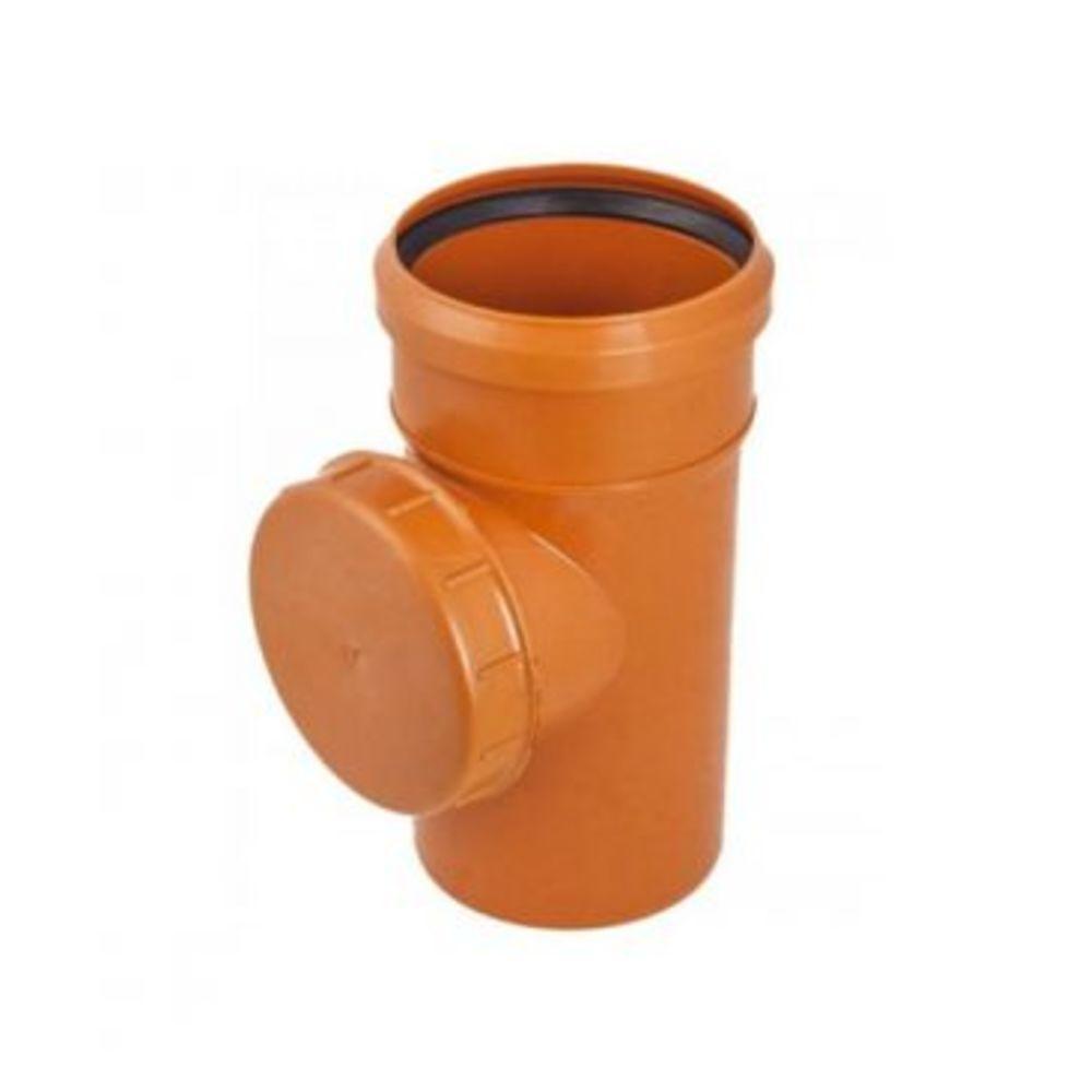 Ревизия ПВХ 110 для наружной канализации