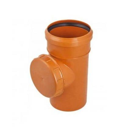 Ревизия ПВХ 110 для наружной канализации, фото 2