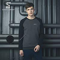 Теплый свитшот мужской BeZet Combi Reflective '18 серый, фото 1