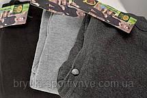 Подштанники мужские с начесом XL\2XL Темно серый, фото 3