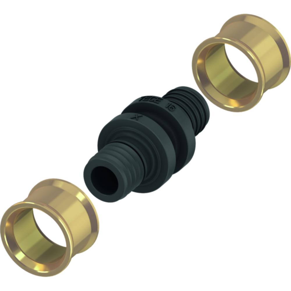 Комплект з'єднання TECEflex для труб SLQ 771516xx, 16-16мм 77220015
