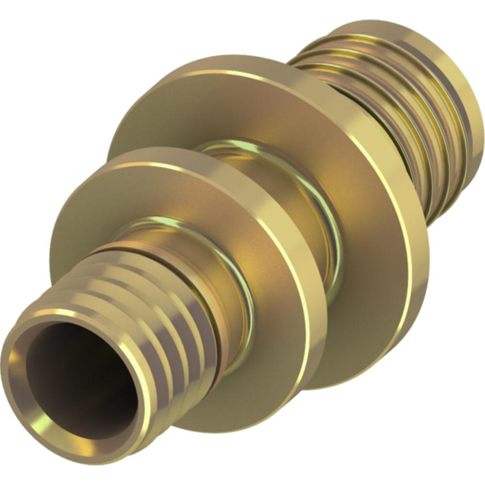Соединение труба-труба редукционное, латунь ∅ 50 × 40мм, TECEflex 706509