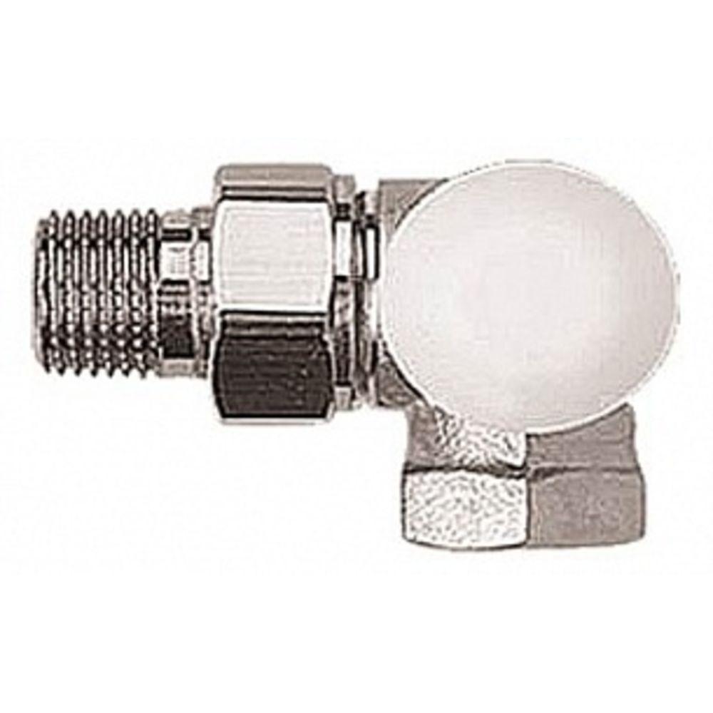 """Термостатический клапан ГЕРЦ-TS-90, трехосевой клапан """"АВ"""" 1\2 справа"""
