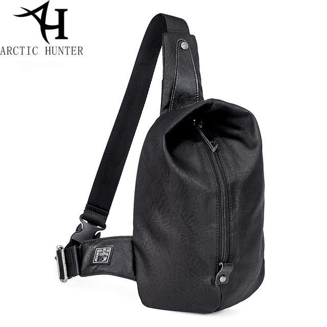 Удобная сумка-мессенджер для бизнеса и путешествий Arctic Hunter XB00037, многофункциональная, 4л