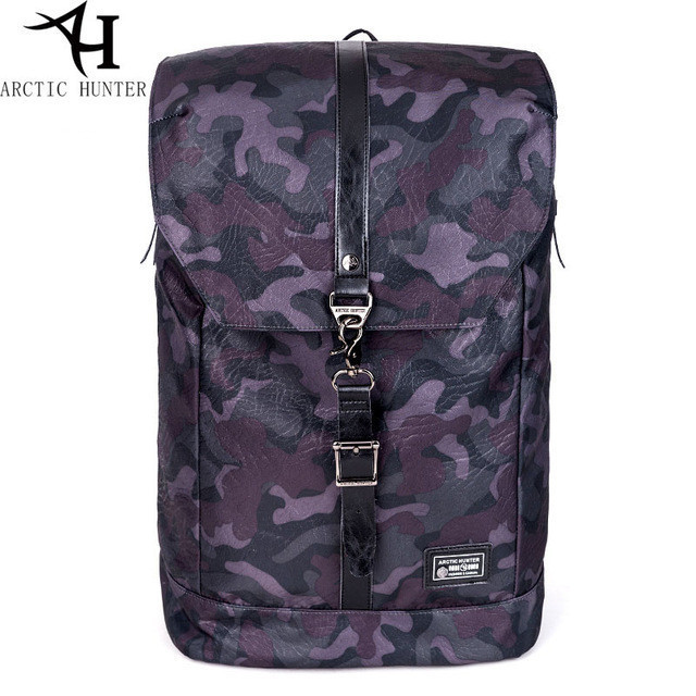 """Молодёжный рюкзак-мешок с отверстием для наушников и отделением для ноутбука 15,6"""" Arctic Hunter B00139, 20л"""