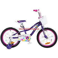 Детский велосипед Formula Alicia 18 дюймов фиолетовый