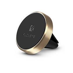 Автомобильный магнитный держатель телефона Floveme Gold