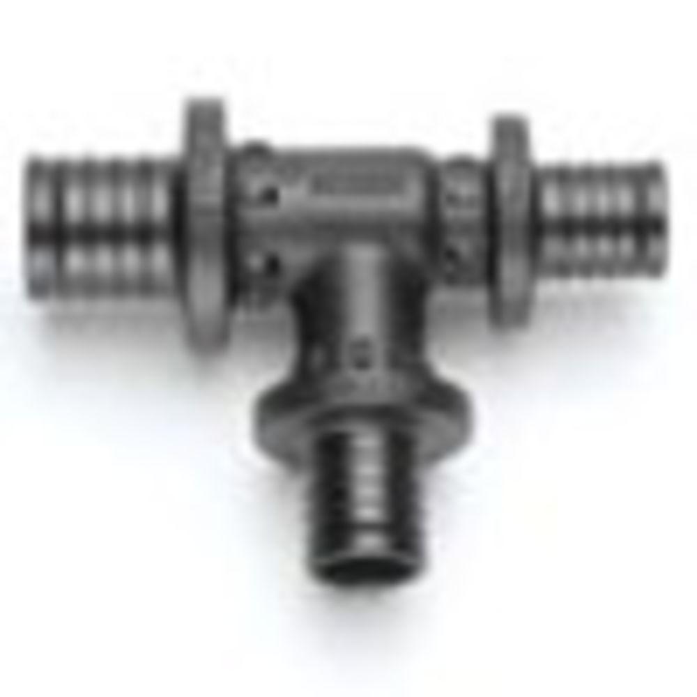 Тройник с уменьшенным боковым и торцевым проходом Rehau RAUTITAN PX 32-25-20