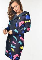 Женское милитари платье из трехнитки (3163 lp), фото 3