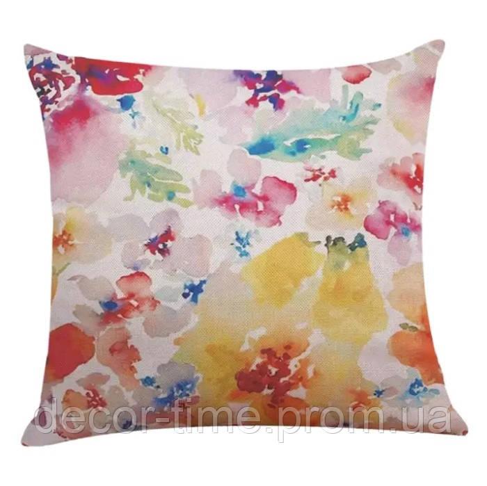 45х45см , наволочка декоративна на подушку дивана 824375