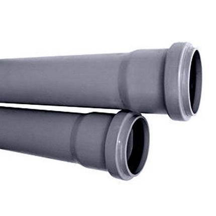 Труба внутренняя 2,2 мм d110 х 2000 мм  (Украина), фото 2