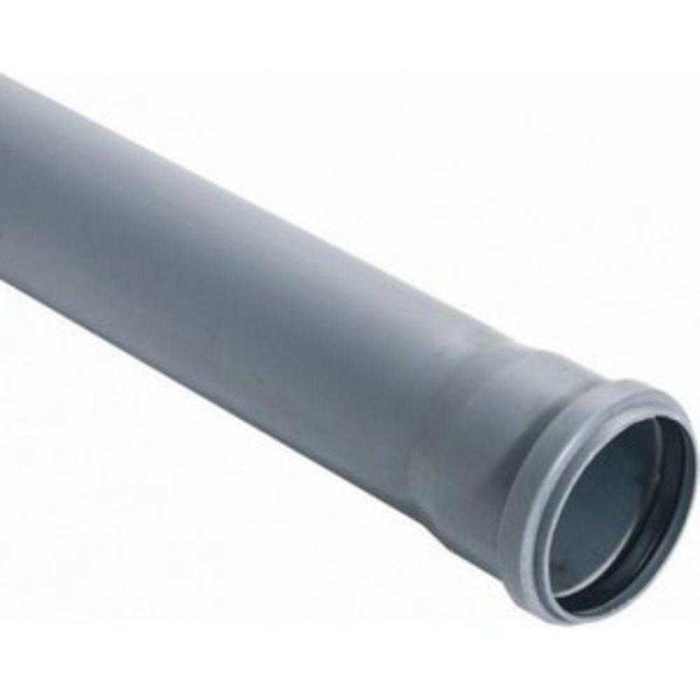 Труба канализационная ППР 110х1000 мм