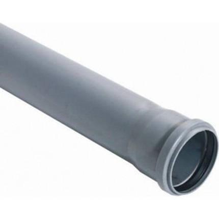 Труба канализационная ППР 110х1000 мм, фото 2