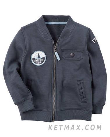 Пиджак бомбер Carter's для мальчика, фото 2