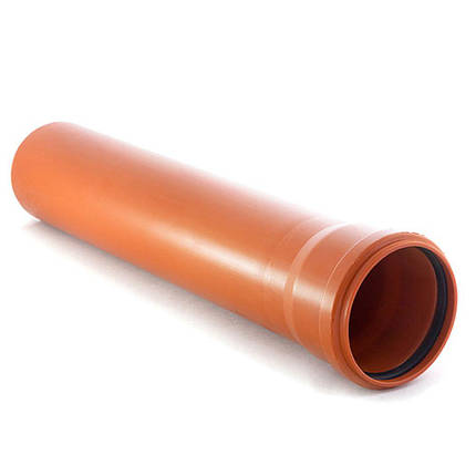 Труба ПВХ 110х2000 SDR 41 (SN2) для наружной канализации, фото 2