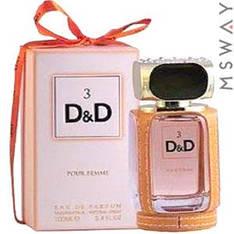 Fragrance World - D&D №3 EDP 100ml парфюмерная вода женская