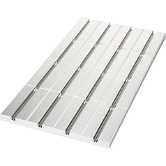 Универсальная панель с алюминиевым слоем UP 125, TECEfloor 77520010