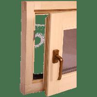Окно для бани, сауны Tesli Поворотное 600х500х78мм