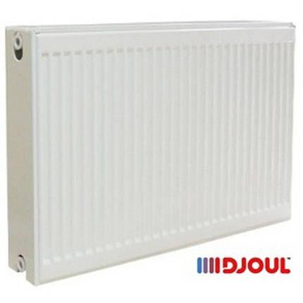 Радиатор стальной 22 тип R (500х600) Djoul - Боковое подключение, фото 2