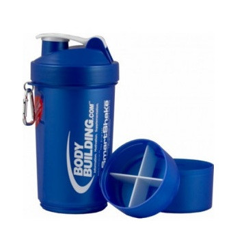 Шейкер Bodybuilding.com Shaker Smart Blue 600 ml + 2 отсека