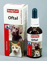 OFTAL Ср-во для чистки глаз д/соб и д/кот., 50мл