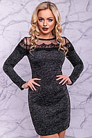 Платье 12-1078 - черный: S М L XL XXL, фото 1