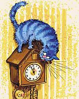 Картина по номерам Ночной охотник, отличный подарок, 40 х 50 см, С Коробкой, фото 1