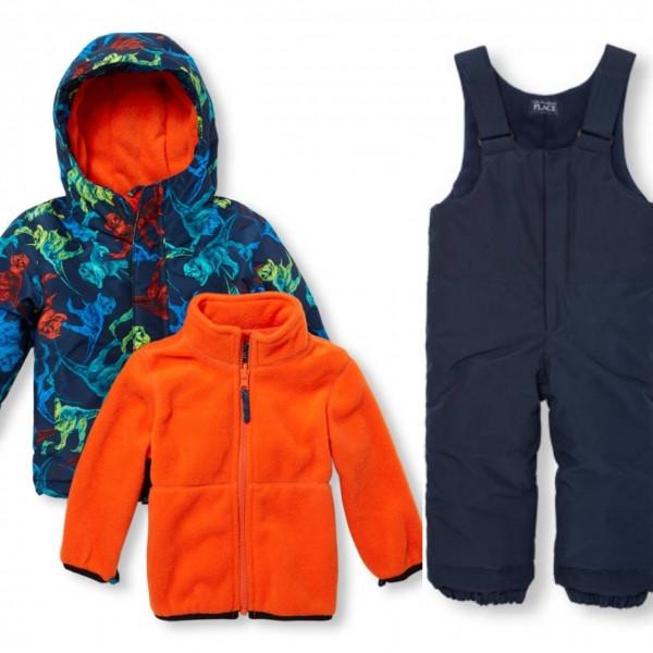 Зимний комплект 3 в 1 The Children's Place для мальчика