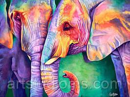"Картина по номерам ""Краски Индии"" 40х50см, С Коробкой"