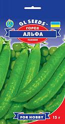 Семена - Горох Альфа, пакет 15 г