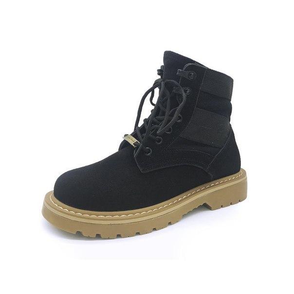 Черные удобные ботинки