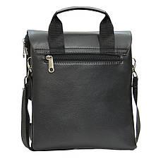 Мужская сумка мессенджер DIWEILU вертикальная 21х25х6 3 отдела м 0716-3ч, фото 3