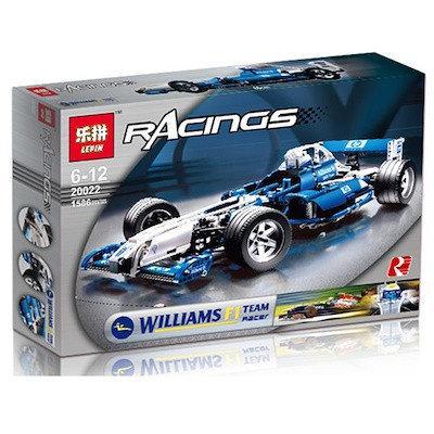 Konstruktor Lepin 20022 Formula 1 Williams Analog Lego Racers