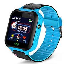 Детские умные часы SUNROZ A25S смарт-часы GPS LBS Голубой