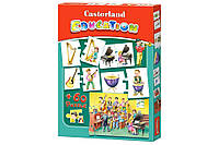 Пазлы Castorland Education. Музыкальные инструменты E-081 60 элементов (53052)